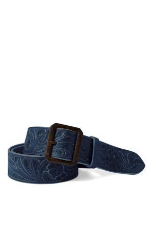 RRL Hand-Tooled Leather Belt