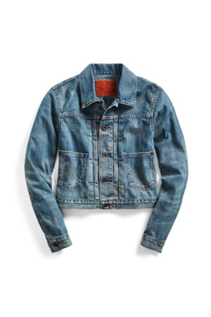 RRL Cropped Denim Jacket