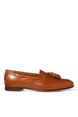 Ralph Lauren Quillis Calfskin Tasselled Loafer