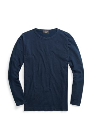 RRL Indigo Long-Sleeve T-Shirt