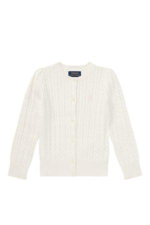 GIRLS 1.5-6.5 YEARS Mini-Cable Cotton Cardigan