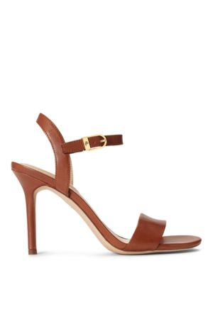 Lauren by Ralph Lauren Gwen Leather Sandal