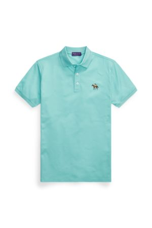 Ralph Lauren Custom Slim Fit Pique Polo Shirt