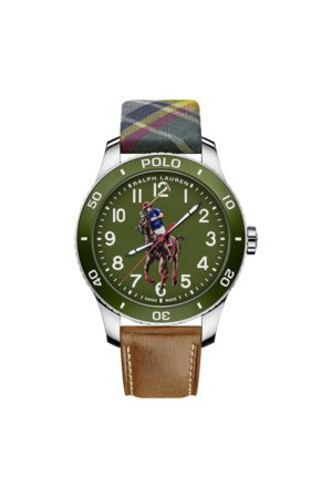 Polo Ralph Lauren Polo Watch Green Dial