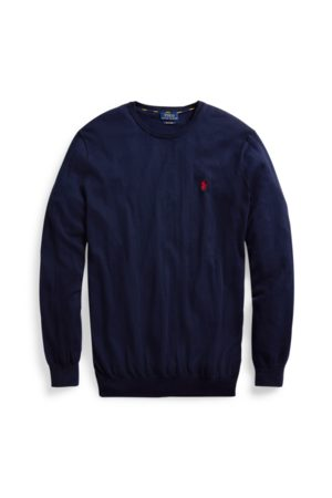 Big & Tall Cotton Crewneck Jumper