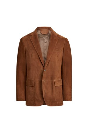 Polo Ralph Lauren Polo Suede Suit Jacket