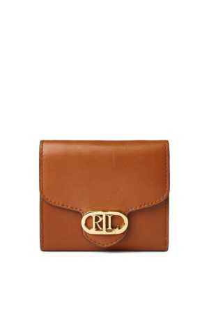 Lauren by Ralph Lauren Leather Compact Wallet