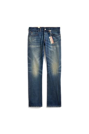 RRL Low Straight Selvedge Jeans