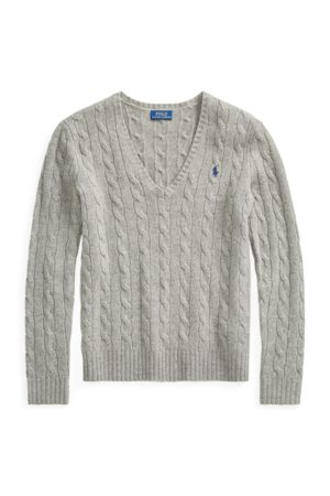 Polo Ralph Lauren Cable Wool-Cashmere Jumper
