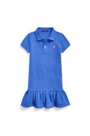 GIRLS 1.5-6.5 YEARS Cotton Mesh Polo Dress