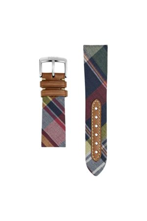 Polo Ralph Lauren Madras Tie Silk Watch Strap