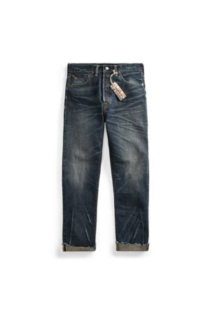 RRL Boy Fit Straight Jeans