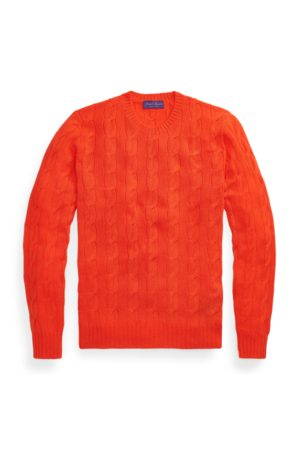 Ralph Lauren Cable-knitted Cashmere Jumper