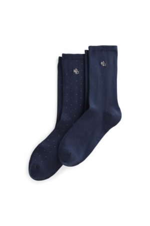 Lauren by Ralph Lauren Stretch Trouser Sock 2-Pack