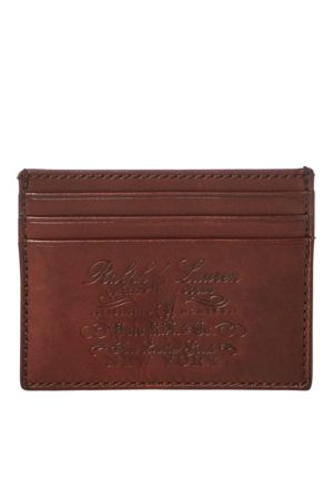 Polo Ralph Lauren Heritage Full-Grain Card Case