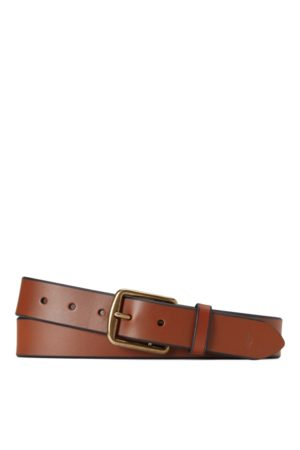 Polo Ralph Lauren Saddle Leather Dress Belt