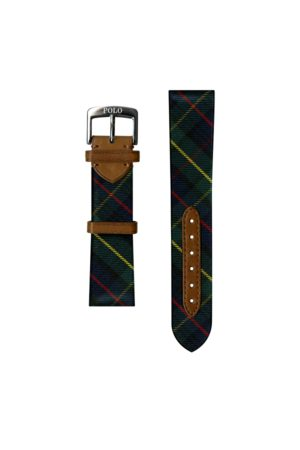 Polo Ralph Lauren Tartan Tie Silk Watch Strap