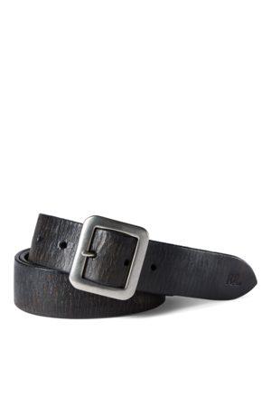 RRL Hand-Burnished Leather Belt