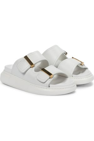 Alexander McQueen Leather slides