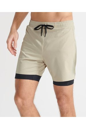 Superdry Sport Dubbellaagse short