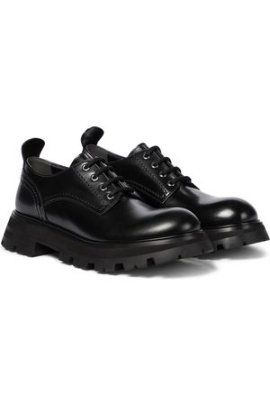 Alexander McQueen Wander leather Derby shoes