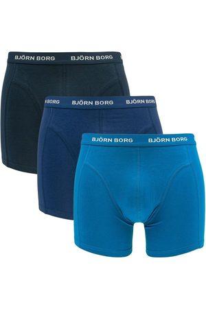Björn Borg Boxershorts basic 3-pack blauwtinten