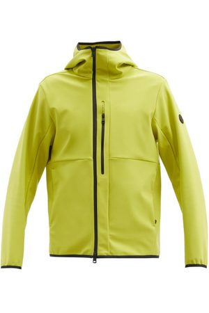 Moncler Darc Hooded Technical-shell Jacket - Mens - Yellow