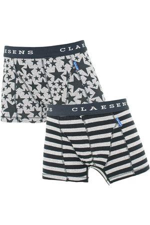 Claesen's Boxershorts jongens 2-pack stripes && stars