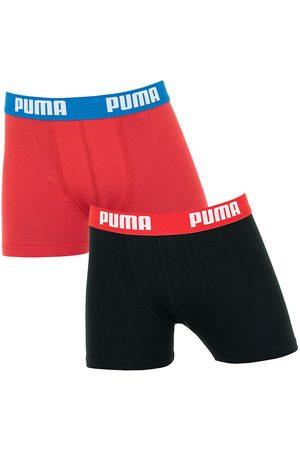 Puma Boxershorts jongens 2-pack zwart && rood II