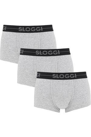 Sloggi Heren Slips - Boxershorts go hipster 3-pack grijs