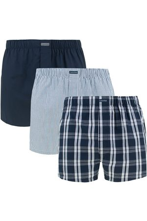 Calvin Klein Heren Boxershorts - Boxershorts 3-pack woven classic fit stripe / check /