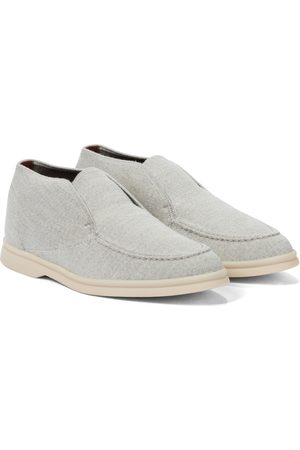 Loro Piana Open Walk cashmere loafers