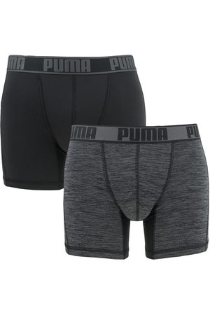 Puma Heren Ondergoed - Boxershorts active grizzly boxer 2-pack