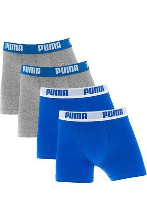 PUMA Boxershorts jongens 4-pack everyday blauw &&
