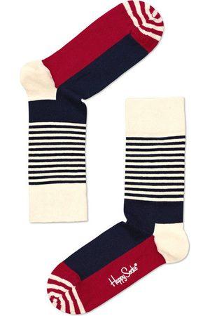 Happy Socks Sokken & Kousen - Stripe half blauw & rood