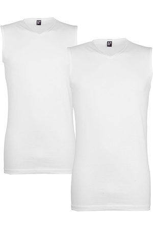 Alan Red Heren Shirts - Minto 2-pack V-hals singlets