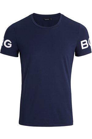Björn Borg Heren Korte mouw - Performance O-hals shirt borg donkerblauw