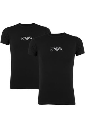 Emporio Armani Heren Shirts - Stretch 2-pack O-hals shirts EA