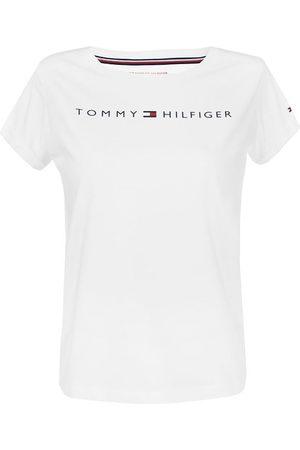 Tommy Hilfiger Dames Shirts - Dames cotton logo o-hals shirt