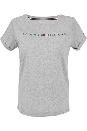Tommy Hilfiger Dames cotton logo o-hals shirt