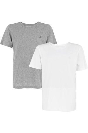 Calvin Klein Jongens modern cotton 2-pack wit & grijs