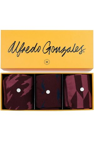Alfredo Gonzales Red 3-pack giftbox