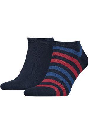 Tommy Hilfiger Heren duo stripe sneaker 2-pack