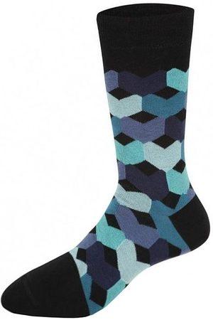 Heroes on Socks Heren Sokken & Kousen - Tulip blauw