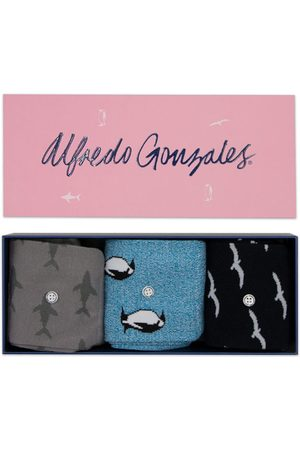 Alfredo Gonzales Animals 3-pack giftbox birds, penguins, & sharks