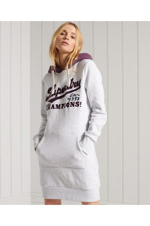 Superdry Collegiate Varsity sweatjurk