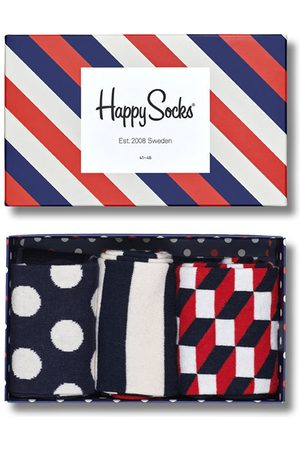Happy Socks Classic stripe giftbox 3-pack