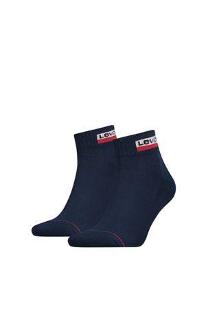 Levi's Mid cut sportswear 2-pack navy