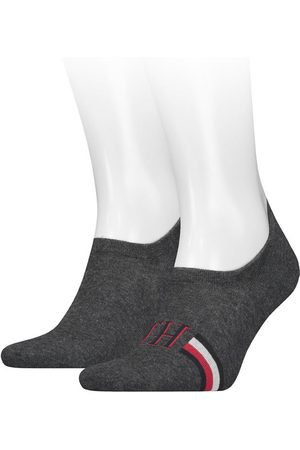 Tommy Hilfiger Heren iconic footies 2-pack