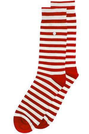 Alfredo Gonzales Sokken & Kousen - Harbour stripes rood & wit